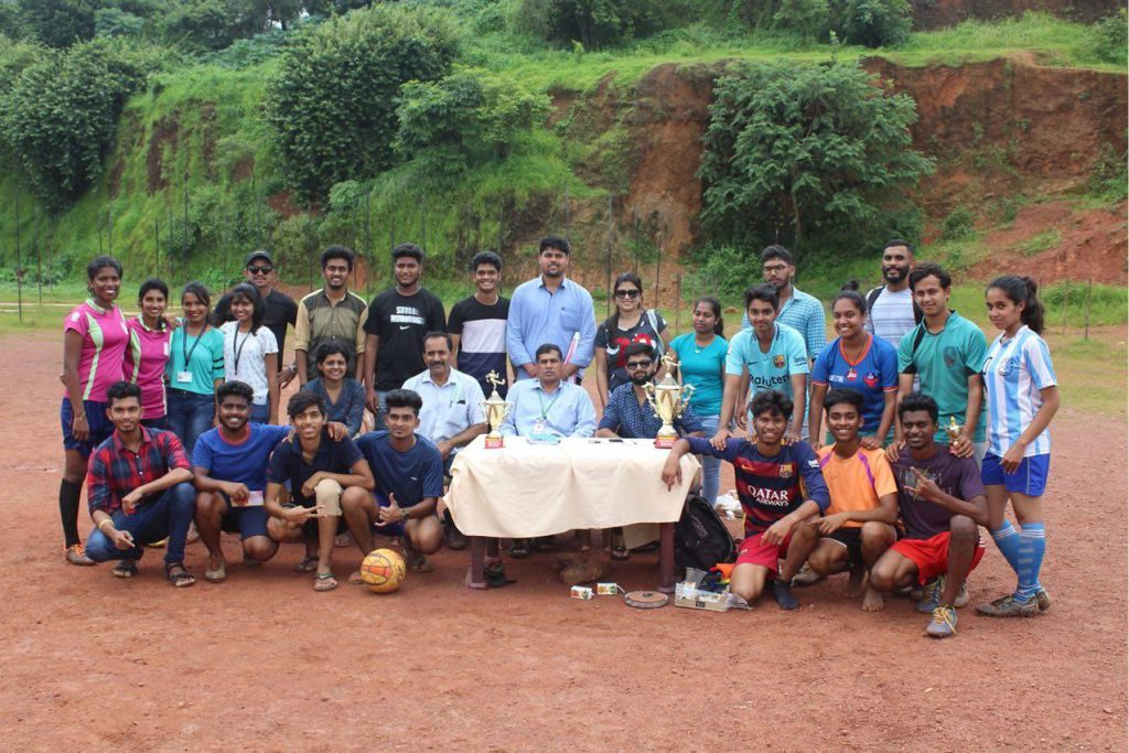 Interclass 7-A Side Football Tie Breaker Tournament organised by Alumni Association